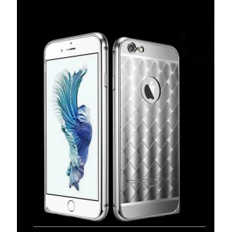 More about Silber LUXUS Aluminium Spiegel Bumper Case iphone 6+ / 6S+