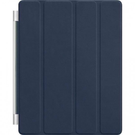 iPad 2 3 4 Smart Front Cover Dunkel Blau