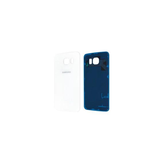 Samsung G925F Galaxy S6 Edge Akkufachdeckel Weiss