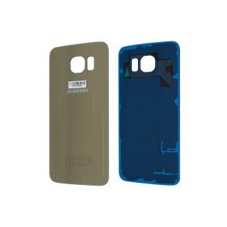 Samsung G925F Galaxy S6 Edge Akkufachdeckel Gold