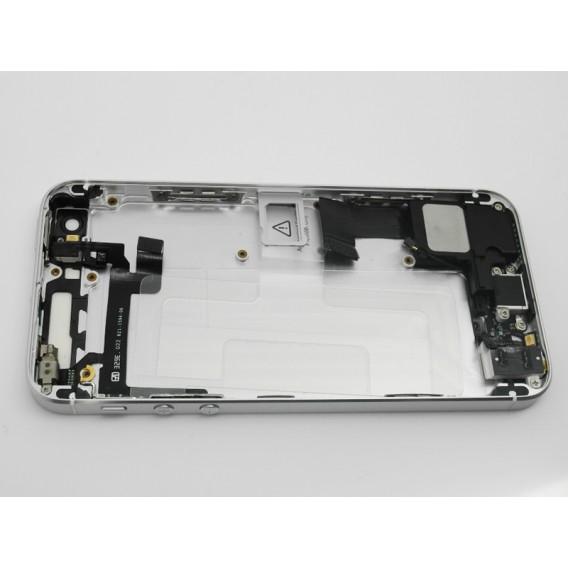 iPhone 5S SE Umbauset Backcover Middle Frame Akkudeckel Silber