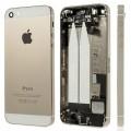 iPhone 5S SE Backcover Middle Frame Akkudeckel Gold (Vormontiert !) A1453, A1457, A1518, A1528, A1530, A1533