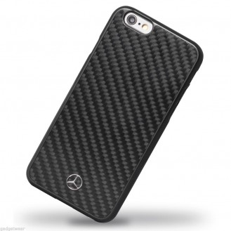 Faceplate Mercedes Dynamic Carbon Apple iPhone 6, 6s Black
