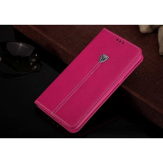 More about Pink Edel Leder Book Tasche Kreditkarten fach Galaxy S6 Edge Plus