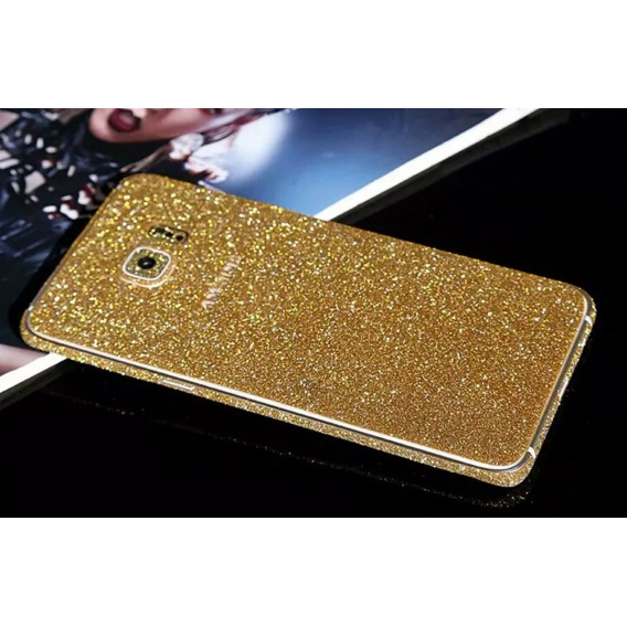 Samsung s6 Edge Plus Gold Bling Aufkleber Folie Sticker Skin