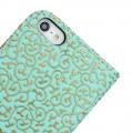 Grün Edel Flip Case Kreditkartefach iPhone 6 und 6S