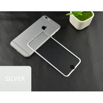 More about Silber 9H Panzerglas Schutzfolie Alu-Rand iPhone 6+ 6S+