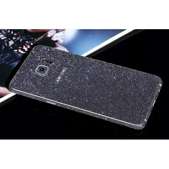 Samsung s6 Edge Schwarz Bling Aufkleber Folie Sticker Skin
