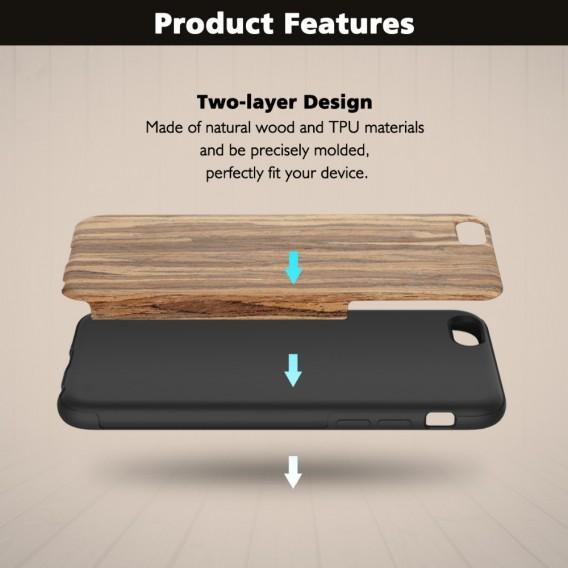 Schwarze Rose Rock Case iPhone 6 Plus und 6S Plus