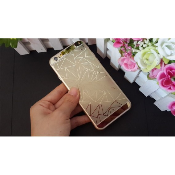 Gold Luxus 3D Panzer Glas Folie iPhone 6 Plus/6s Plus