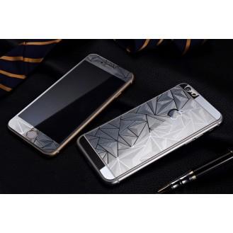 More about Silber Luxus 3D Panzer Glas Folie iPhone 6 Plus/6s Plus