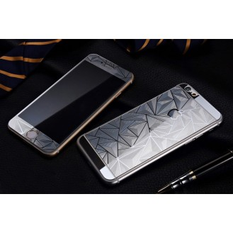 More about Silber Luxus 3D Panzer Glas Folie iPhone 6/6s