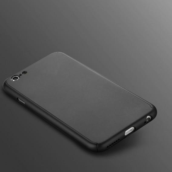 Schwarz iPhone 360° Full Cover iphone 6 Plus 6S Plus