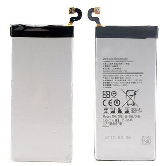 Samsung EB-BG920ABE Li-Ion Akku 2550mAh für Galaxy S6