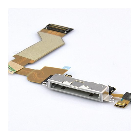 iPhone 4S Flexkabel mit Dock Connector Weiss