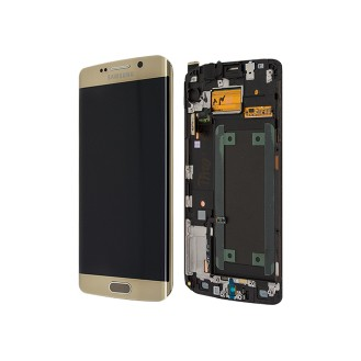 Original LCD Display Samsung G925F Galaxy S6 Edge Gold