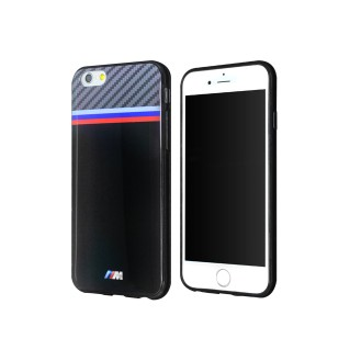 BMW TPU Case Tricolor iPhone 6, 6s Black/ Carbon