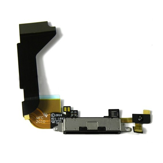 iPhone 4 Ladebuchse Dock Connector USB Flex Kabel Anschluss in