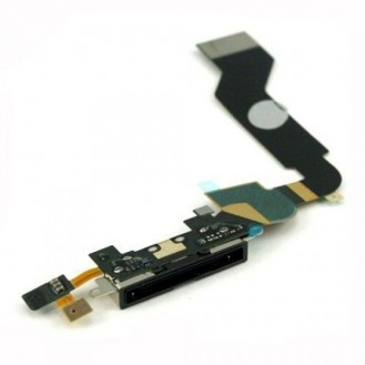 iPhone 4s Ladebuchse Dock Connector schwarz A1387, A1431