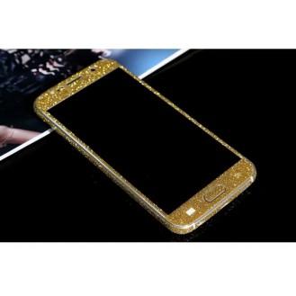 Samsung s6  Gold Bling Aufkleber Folie Sticker Skin