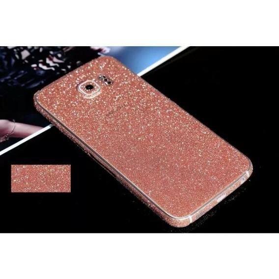 Samsung s6 Rosa Bling Aufkleber Folie Sticker Skin