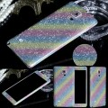 Galaxy Note 4 Regenbogen Bling Aufkleber Folie Sticker