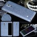 Galaxy Note 4 Blau Bling Aufkleber Folie Sticker