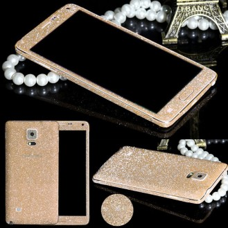 More about Galaxy Note 4 Champagne Bling Aufkleber Folie Sticker