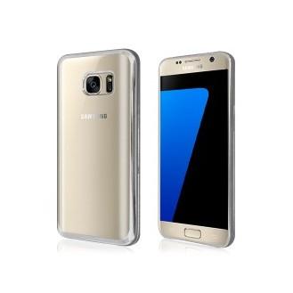 Galaxy S7 Silber Silikon TPU Hülle