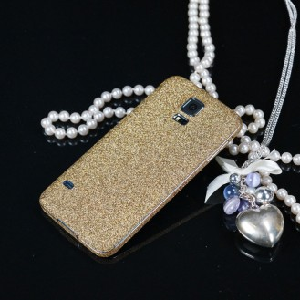 Galaxy s5 Gold Bling Aufkleber Folie Sticker Skin