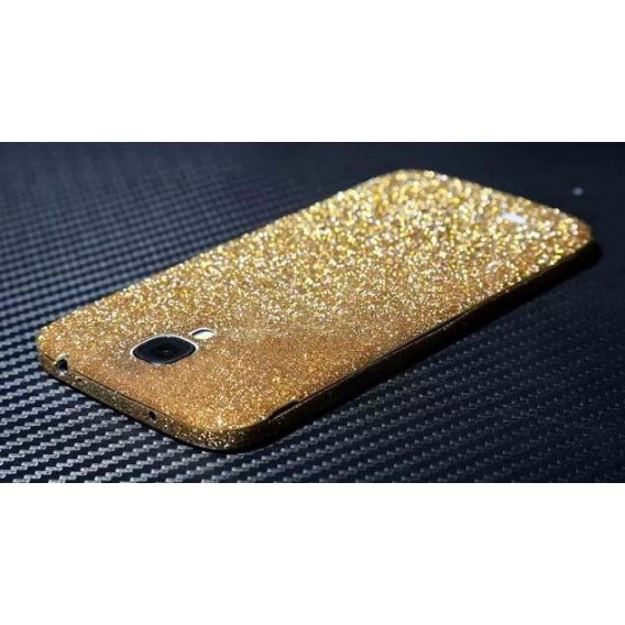 Galaxy s4 Gold Bling Aufkleber Folie Sticker Skin