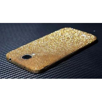 Galaxy s4 Gold Bling Aufkleber Folie Sticker Skin