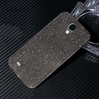 Galaxy s4 Schwarz Bling Aufkleber Folie Sticker Skin