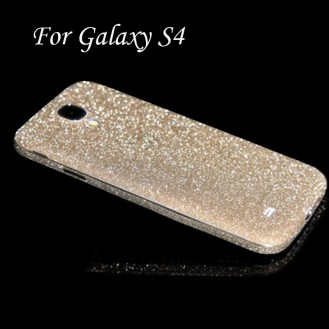 Galaxy s4 Champagne Bling Aufkleber Folie Sticker Skin