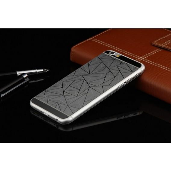 Schwarz Luxus 3D Panzer Glas Folie iPhone 6 Plus/6s Plus