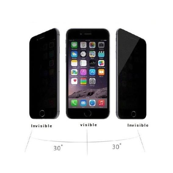 Privacy 9H Panzerglas Tempered Folie iPhone 6 Plus / 6S+