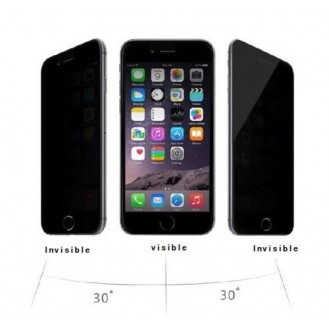 Privacy 9H Panzerglas Tempered Folie iPhone 6 / 6S