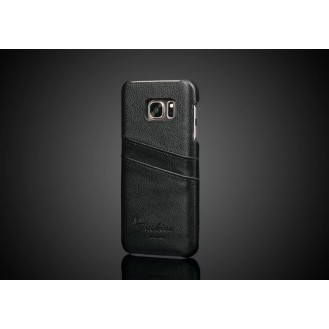 More about Galaxy S7 Wallet Card  Leder Case Schwarz