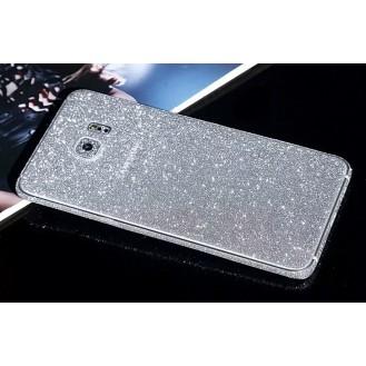 Samsung s7 Edge Silber Bling Aufkleber Folie Sticker Skin