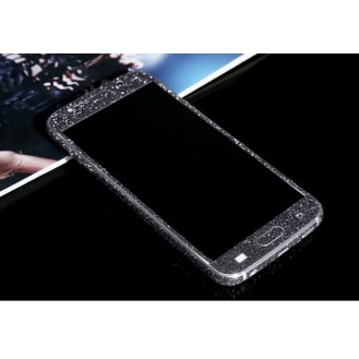 Samsung s7 Schwarz Bling Aufkleber Folie Sticker Skin