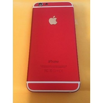 iPhone 6 Backcover Middle Frame Akkudeckel Rot (Vormontiert !)