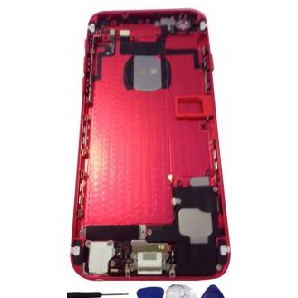 iPhone 6 Backcover Middle Frame Akkudeckel Rot (Vormontiert!)