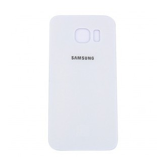 Galaxy S6 Glas Backcover Weiss