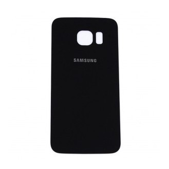 Galaxy S6 Glas Backcover Schwarz