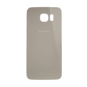 Galaxy S6 Glas Backcover Gold