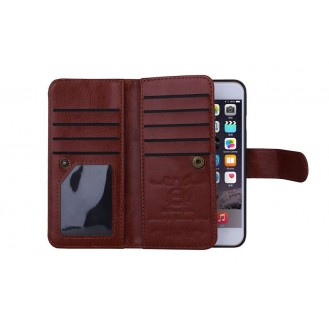 Multifunktion Wallet Leder Galax S7 Edge