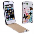 Butterfly Hell Flip Leder Etui Tasche iPhone 5 / 5S
