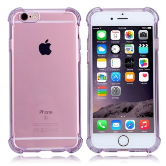Anti Shock Silikon Tpu case iphone 6 6S Rosa