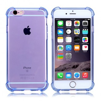Anti Shock Silikon Tpu case iphone 6 6S Blau