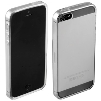 TPU Silikon Transparent Durchsichtig Cover Case iPhone 5 / 5S